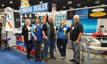 Accomplish Quilting on the show floor